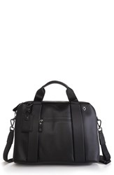 Men's Vessel 'Signature' Briefcase Black Carbon Black