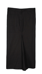 Tibi Nori Pearlized Linen Long Skirt