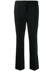 Dorothee Schumacher Cropped High Waisted Trousers Black