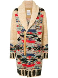 Coohem Native Knitted Coat Brown