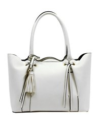 London Fog Hayle Leather Shopper Tote