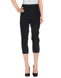 Daniele Alessandrini Trousers 3 4 Length Trousers Women Black