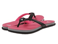 Adidas Supercloud Plus Thong Black Solar Pink Grey Women's Sandals