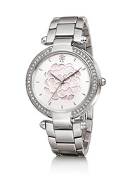 Folli Follie Santorini Flower Mop Stainless Steel Watch