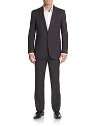 Ralph Lauren Black Label Italian Wool Suit Charcoal