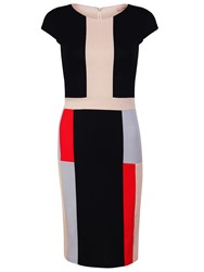 Maiocci Collection Block Dress Multi Coloured