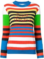 Giada Benincasa Striped Jumper White