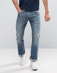 Edwin Ed 71 Straight Fit Jeans Blue