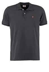 Knowledge Cotton Apparel Polo Shirt Dark Blue