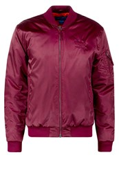 Adidas Originals Ma1 Bomber Jacket Maroon Bordeaux