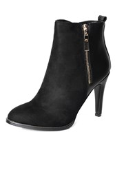 Alice And You Stiletto Ankle Boot Black