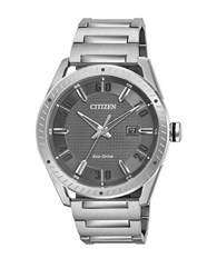 Citizen Drive Eco Drive Stainless Steel Analog Bracelet Watch Silver