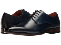 Florsheim Corbetta Perf Toe Oxford Navy Smooth Men's Lace Up Casual Shoes Blue