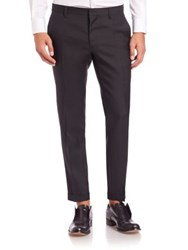 Dsquared Tokyo Wool And Silk Evening Pants