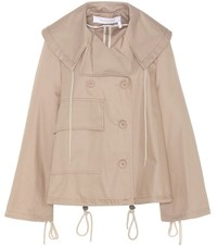 See By Chloe Cotton Twill Jacket Beige