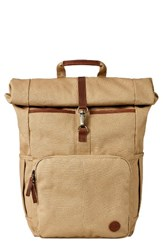 Timberland Men's Walnut Hill Backpack Beige Kelp