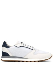 Brunello Cucinelli Panelled Low Top Sneakers 60