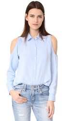 Rails Sadie Button Down Shirt Light Vintage Wash