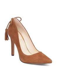 Jessica Simpson Centella Suede Point Toe Pumps Brown
