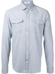 Cerruti 1881 Longsleeve Shirt Men Cotton S Grey