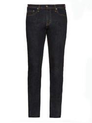 Ag Jeans The Stockton Mid Rise Slim Fit Jeans Dark Indigo