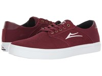 Lakai Porter Port Suede Men's Shoes Burgundy