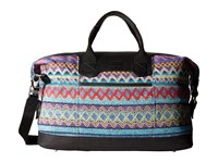 Toms Seeker Sweater Felt Weekender Sky Multi Weekender Overnight Luggage Blue