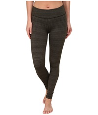 Beyond Yoga Stripe Essential Long Leggings Wintergreen Women's Casual Pants