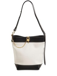 J.W.Anderson Keyts Canvas And Leather Tote Calcio