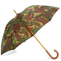 London Undercover City Gent Umbrella Green