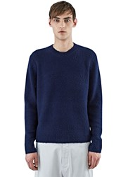 Acne Studios Peele Cashmere Knit Sweater Navy