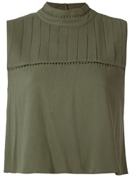 Olympiah Hagia High Neck Cropped Top 60