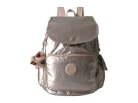 Kipling Ravier Backpack Sparkly Gold Backpack Bags