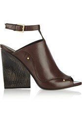 Maiyet Leather Mules Brown