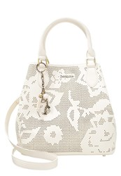 Desigual Florida Holewood Handbag Blanco White