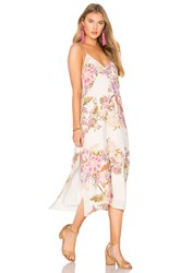 Spell And The Gypsy Collective Blue Skies Slip Dress Ivory