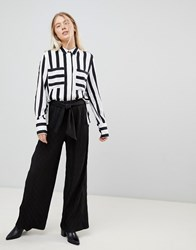 Minimum Moves By Wide Leg Trousers Black
