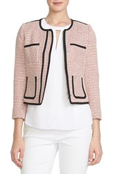 Women's Cece By Cynthia Steffe Patch Pocket Tweed Jacket