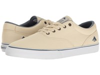 Emerica The Provost Slim Vulc White Blue Men's Skate Shoes