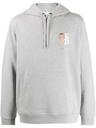 Burberry Monogram And Equestrian Knight Embroidery Hoodie 60