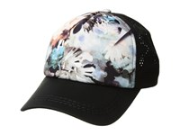 Roxy Waves Machines Cap Bachelor Button Water Of Love Caps Black