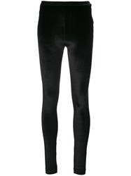 Tom Ford Velvet Leggings Black