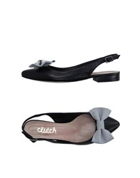 Clutch Footwear Ballet Flats Women Black