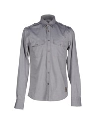 Dekker Shirts Shirts Men Grey