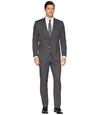 Kenneth Cole Reaction Slim Fit Performance Suit W Stretch Grey Dress Pants Gray