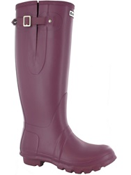 Hi Tec Neo Waterproof Wellington Boots Purple
