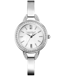 Caravelle New York By Bulova Women's Stainless Steel Bangle Bracelet Watch 28Mm 43L166 Women's Shoes