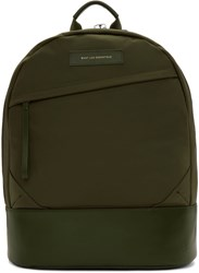 Want Les Essentiels Green Nylon Kastrup Backpack