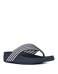 Fitflop Surfa Tm Thong Sandals Navy