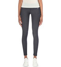 Replay Hyperskin Skinny High Rise Jeggings Blue Shade